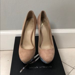 Brian Atwood Shoes - Brian Atwood Crystal shoes
